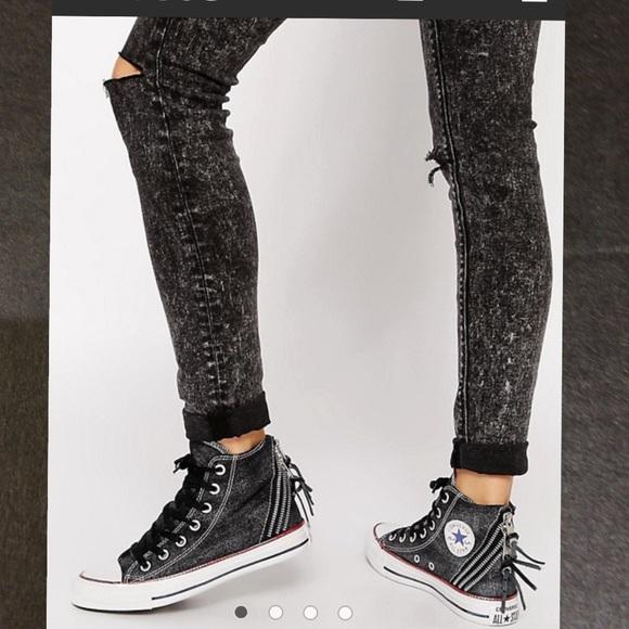 d194e731b5b8 Converse Chuck Taylor Tri Zip High Top Sneaker